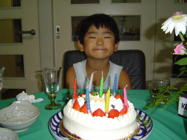 下の子のお誕生日