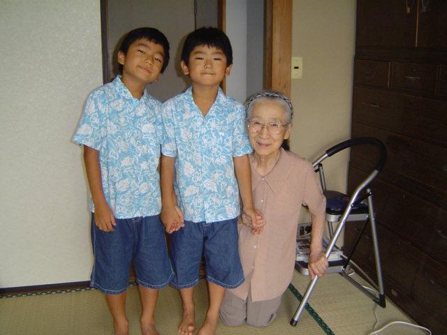 鷺沼のおばあさん宅訪問
