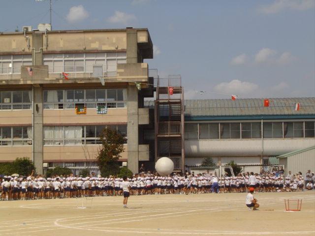 柿の木台小学校運動会
