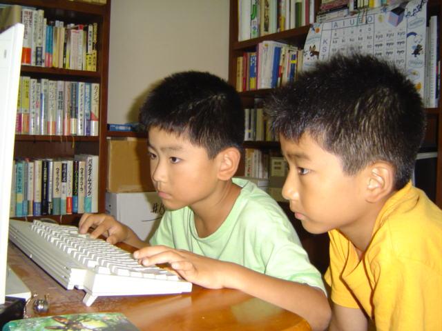 下の子のパソコンゲーム