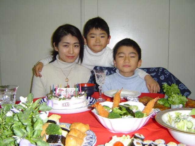 おにいちゃんの誕生日記念
