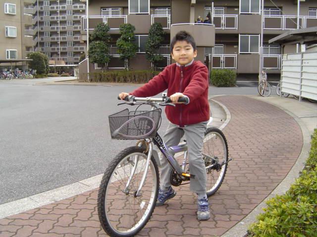 自転車のおにいちゃん