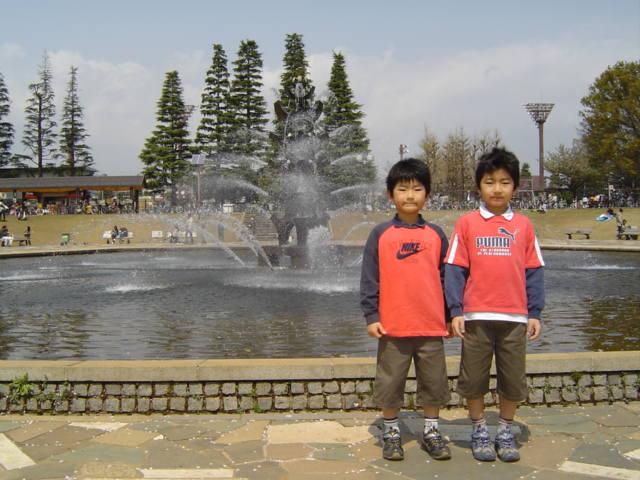 世田谷公園噴水