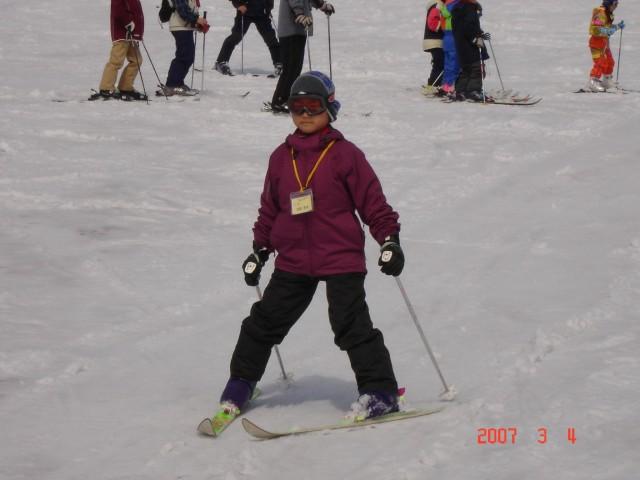 ボーイスカウトのスキー合宿