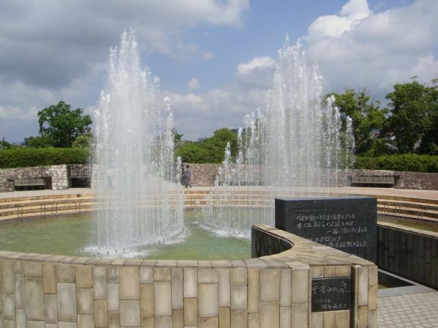 長崎平和公園・平和の泉