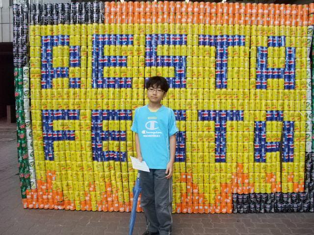 駒場東邦文化祭にておにいちゃん