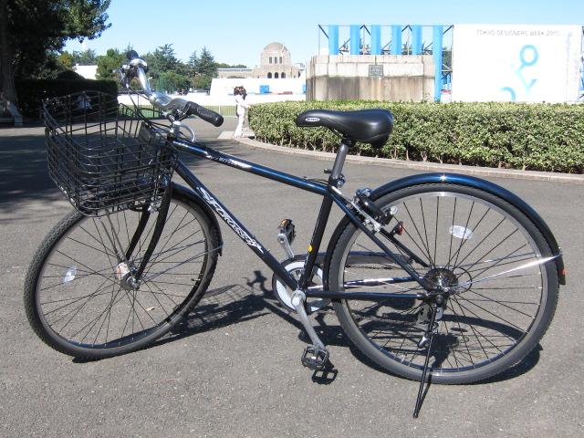 新しく買った自転車
