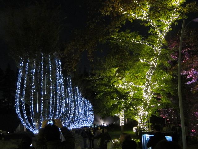 東京ミッドタウンのシャンゼリゼ・イルミネーション