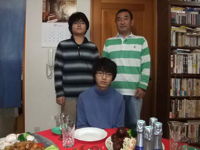 おにいちゃんのお誕生祝い